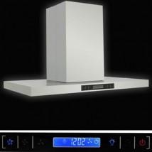 474 NOWOCZESNY OKAP KUCHENNY 90cm 70Wat LCD WYSPA