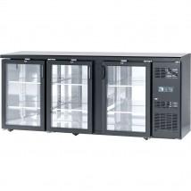 Stół barowy chłodniczy 3-drzwiowy 500L STALGAST ST882181